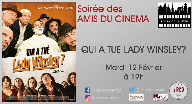 Soirée Amis du Cinéma: QUI A TUER LADY WINSLEY? // Mardi 12 Février à 19h