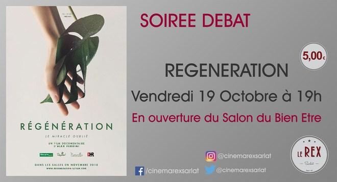 Soirée Débat - REGENERATION // Vendredi 19 Octobre à 19h