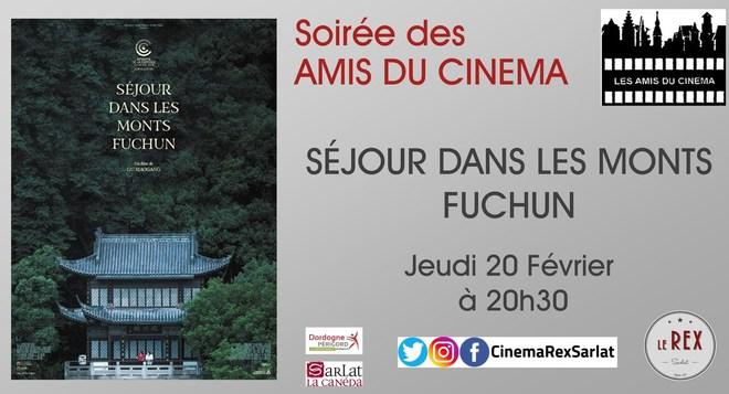 Soirée Amis du Cinéma:SEJOUR DANS LES MONTS FUCHUN // Jeudi 20 Février à 20h30