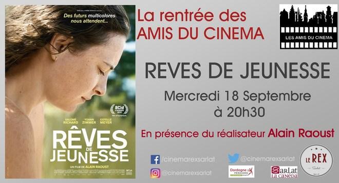 Amis du Cinéma: RÊVES DE JEUNESSE // Mercredi 18 Septembre à 20h30
