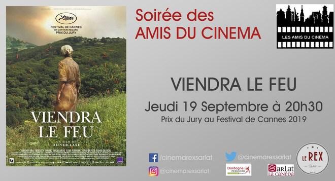 Amis du Cinéma: VIENDRA LE FEU // Jeudi 19 Septembre à 20h30
