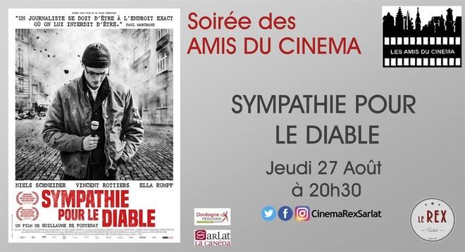 Soirée Amis du Cinéma: SYMPATHIE POUR LE DIABLE//Jeudi 27 Août à 20h30
