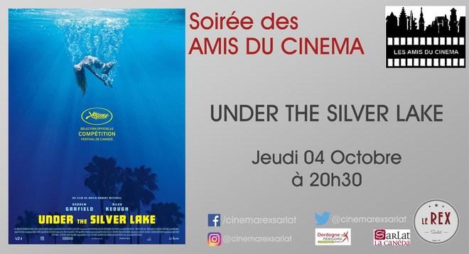 Amis du Cinéma - UNDER THE SILVER LAKE // Jeudi 4 Octobre à 20h30