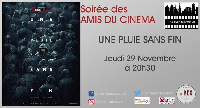 Soirée Amis du Cinéma: UNE PLUIE SANS FIN // Jeudi 22 Novembre à 20h30