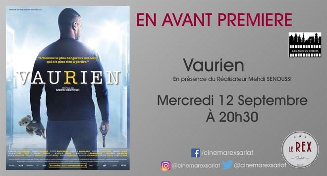 Amis du Cinéma - VAURIEN // Mercredi 12 Septembre à 20h30