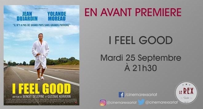 Avant Première I FEEL GOOD // mardi 25 Septembre à 21h30