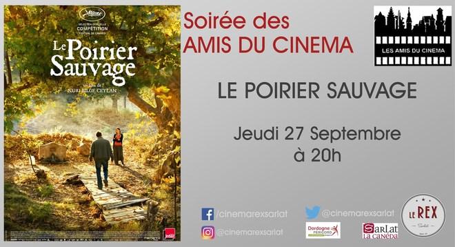 Amis du Cinéma - LE POIRIER SAUVAGE // Jeudi 27 Septembre à 20h