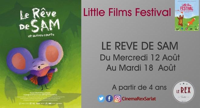 Little films FESTIVAL: LE REVE DE SAM // A partir du 12 AOÛT