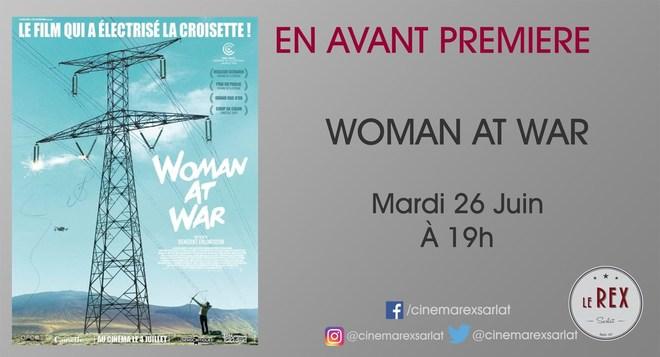 Avant Première WOMAN AT WAR // Mardi 26 Juin à 19h