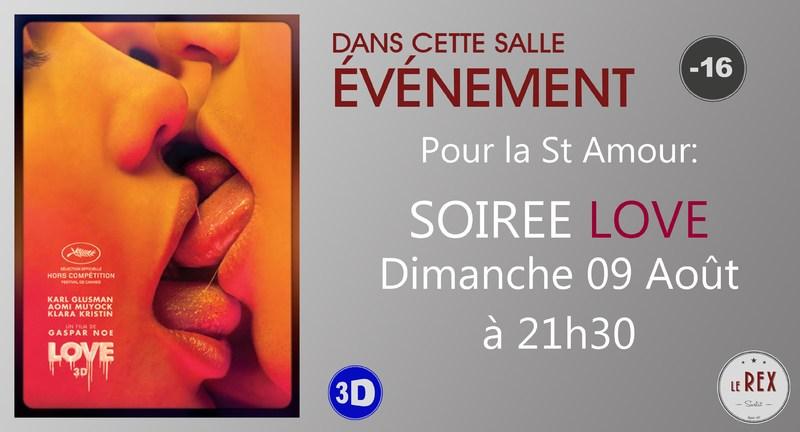 Pour La St Amour LOVE En 3D