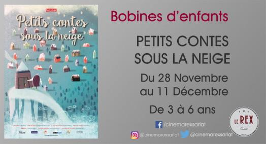 Bobines d'Enfants:PETITS CONTES SOUS LA NEIGE // Du mercredi 28 novembre au mardi 11 décembre